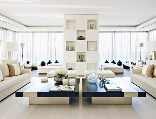 Living Rooms Inspiring Living Rooms Designed by Kelly Hoppen featured image 600x460