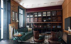living room design Mid-century Modern apartment's living room designs featured 1 240x150