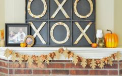 Welcome Fall into Your Living Room by Bringing the Outdoor In living room Welcome Fall into Your Living Room by Bringing the Outdoor In Burlap Bronze Fall Garland 12 feat 240x150