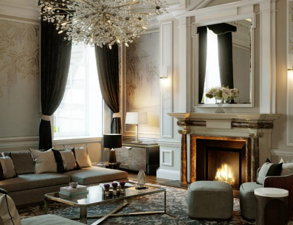 Luxurious House with Interior Design by MKD