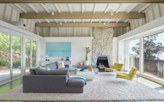Living Room Inspiration: Mid-Century Modern Home in Berkeley Hills
