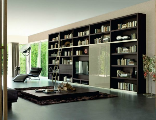 Fall Tips: Bring Your Library into Your Living Room living room Fall Tips: Bring Your Library into Your Living Room architecture art designs 2 feat 600x460
