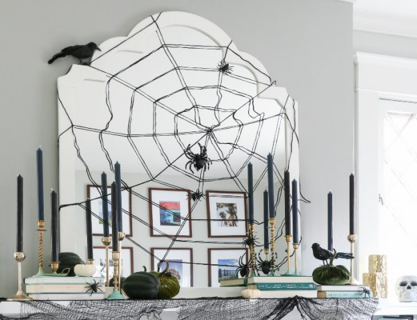 How to Transform Your Living Room for Halloween