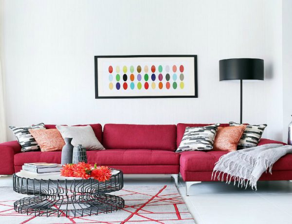 The Best Mid-Century and Contemporary Sofas for Your Living Room living room The Best Mid-Century and Contemporary Sofas for Your Living Room red feat 600x460