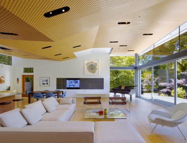 Living Room Inspiration: California Modern House Design
