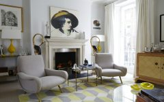 Get Ready for Winter with 10 Living Rooms Ideas Warmed by Fireplaces