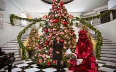 Kris Jenner's Winter Wonderland Christmas Decor