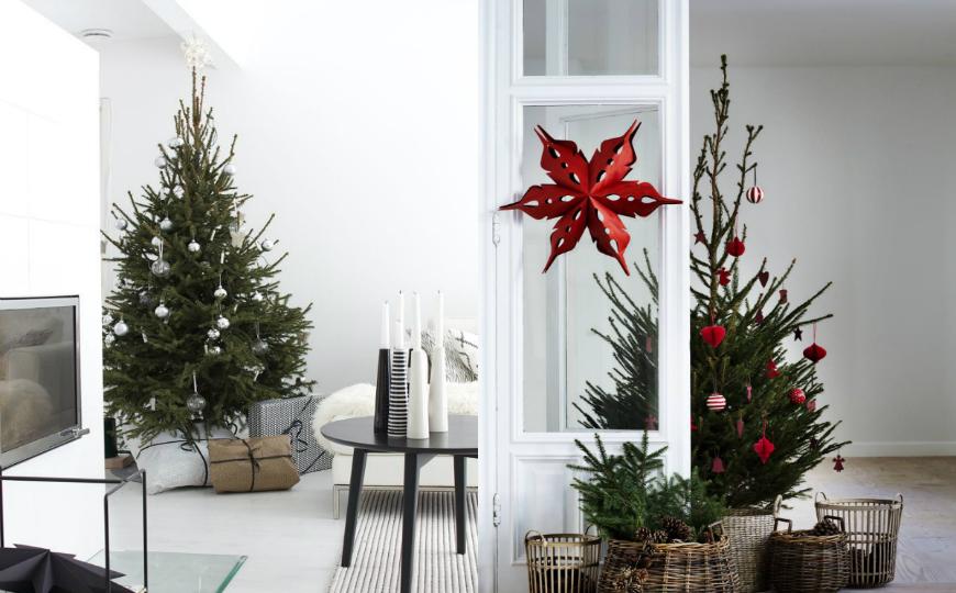 Holiday Living Christmas Tree.Scandinavian Christmas Trees For Your Holiday Living Room Decor