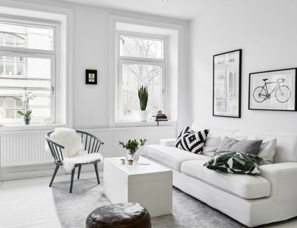 living room decor High-Impact Rental Upgrades to Improve Your Living Room Decor 11 5 600x460