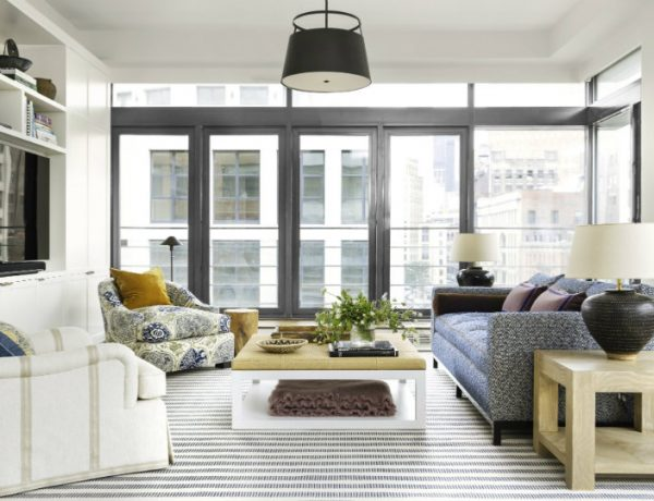 Living Room Inspiration Manhattan Apartment Filled with Pattern feat living room inspiration Living Room Inspiration: Manhattan Apartment Filled with Pattern Living Room Inspiration Manhattan Apartment Filled with Pattern feat 600x460