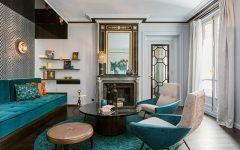 Luxury Living Room In The Heart Of Paris