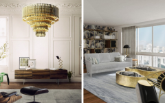 How To Get A Luxury Living Room With Golden Lighting