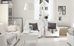 White Living Room Furniture Design Ideas