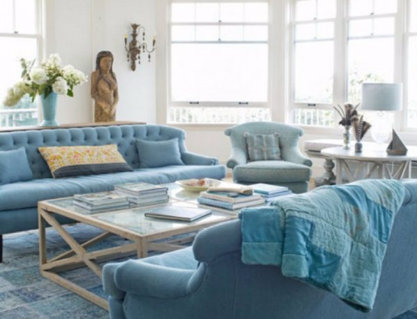 living room 10 Reasons Why Blue Is The Best Color For Decorating Your Living Room capa 1 600x460