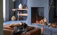 living room Living Rooms With Cozy Fireplaces capa 5 240x150