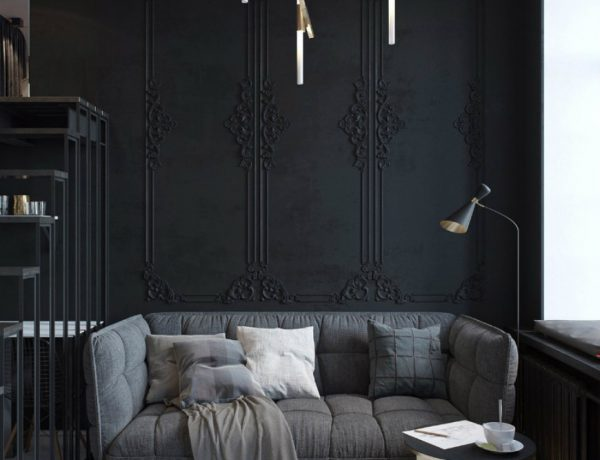 living room Black Living Room Ideas To Enhance Your Home Decor capa 14 600x460