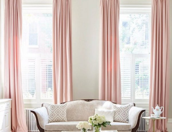 living rooms Glorious Ideas About Light Pink Living Rooms capa 13 600x460