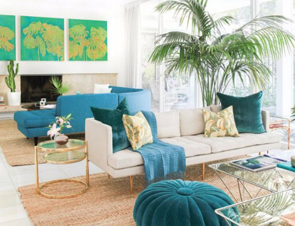 Scrumptious Turquoise Living Room Ideas capa 14 600x460