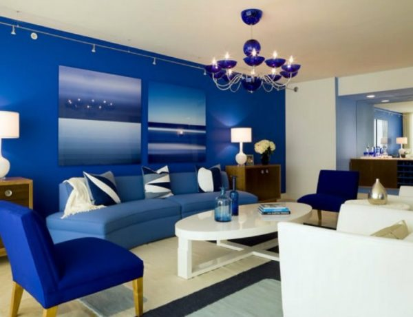 7 Fabulous Ideas About Blue Living Rooms capa 15 600x460