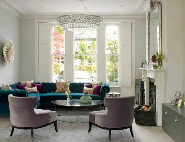 Chic Living Rooms Love, Chic Living Rooms capa 25 600x460