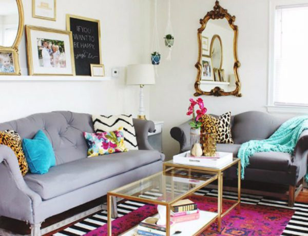 Eclectic Living Room How To Create a Eclectic Living Room capa 30 600x460