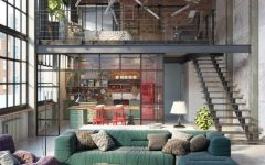 living room 10 Loft-Style Living Room Design Ideas capa 4 240x150