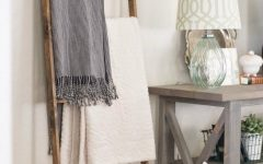 living room 8 Ways To Style A Ladder Blanket Rack In Your Living Room capa 15 240x150