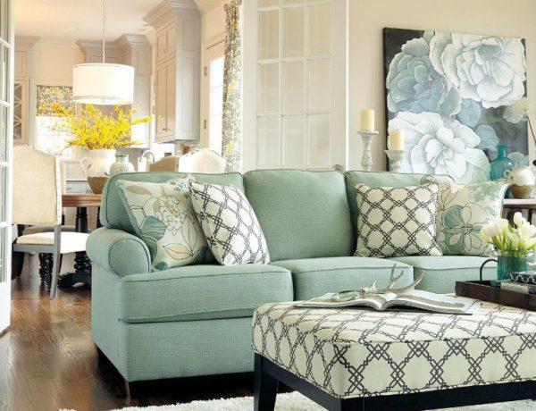 Living Room How To Make a Light Blue-Green Living Room capa 18 600x460