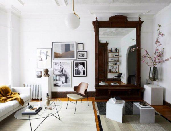 living room inspiration Living Room Inspiration: An Architectural Brooklyn Living Room capa 9 600x460