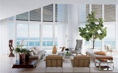living room decor Indoor Trees Ideas For Your Living Room Decor fiddle leaf fig indoor tree white contemporary living room 240x150
