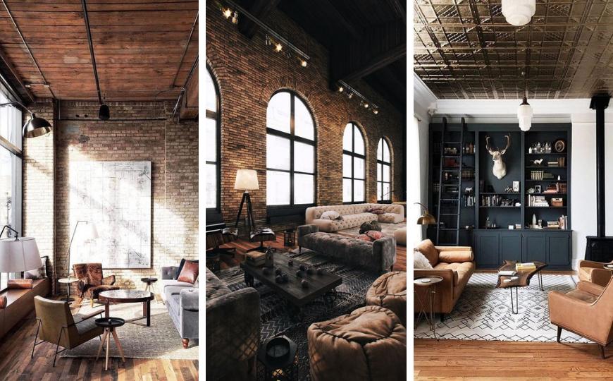 Industrial Living Room Design Ideas You, Industrial Living Room