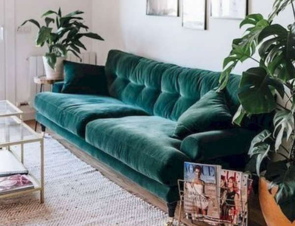 Velvet Sofas Are Your New Best Friend In Living Room Decor velvet sofas Velvet Sofas Are Your New Best Friend In Living Room Decor Velvet Sofas Are Your New Best Friend In Living Room Decor 7 600x460