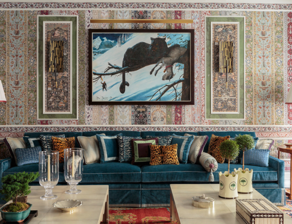 A Maximalist Living Room With All The Right TrendsA Maximalist Living Room With All The Right Trends maximalist living room A Maximalist Living Room With All The Right Trends A Maximalist Living Room With All The Right Trends feat 600x460