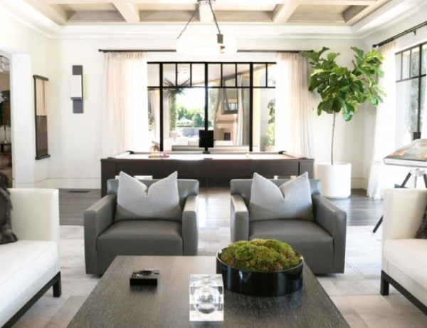 Celebrity Living Rooms You'll Want To Copy Right Now