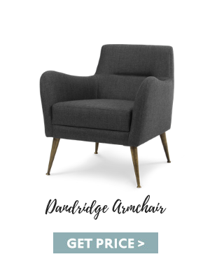 mid-century living room How To Get The Perfect Mid-Century Living Room dandridge armchair