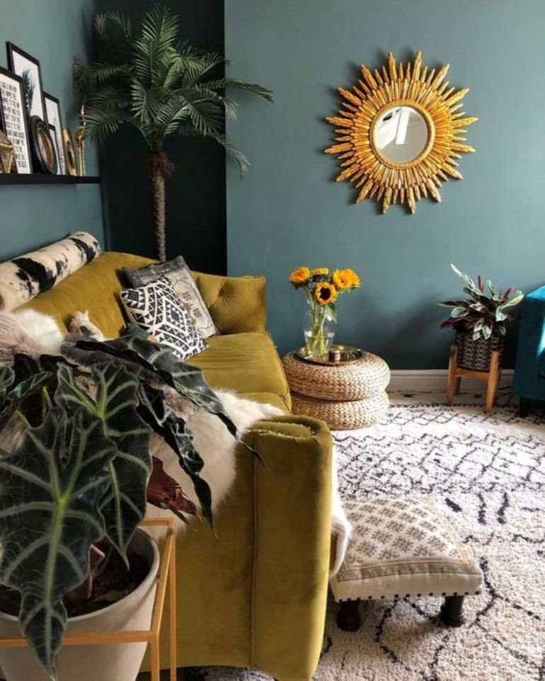 Living Room Color Trends A Touch Of Yellow For Summer_2