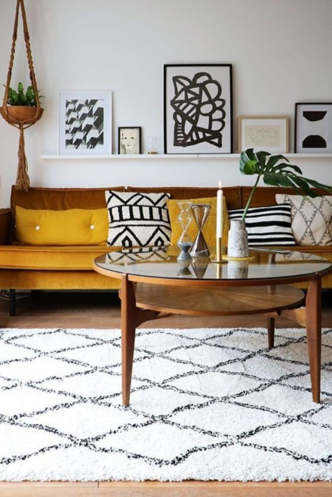 Living Room Color Trends A Touch Of Yellow For Summer_4