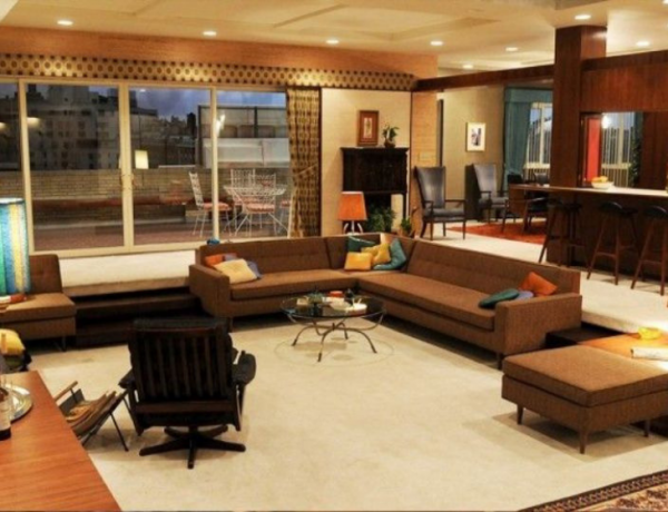 tv living rooms Famous TV Living Rooms We Have All Dreamt About Design sem nome 600x460