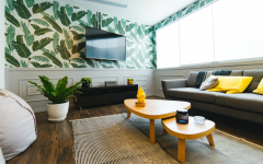 Living Room Wallpapers To Make A Statement