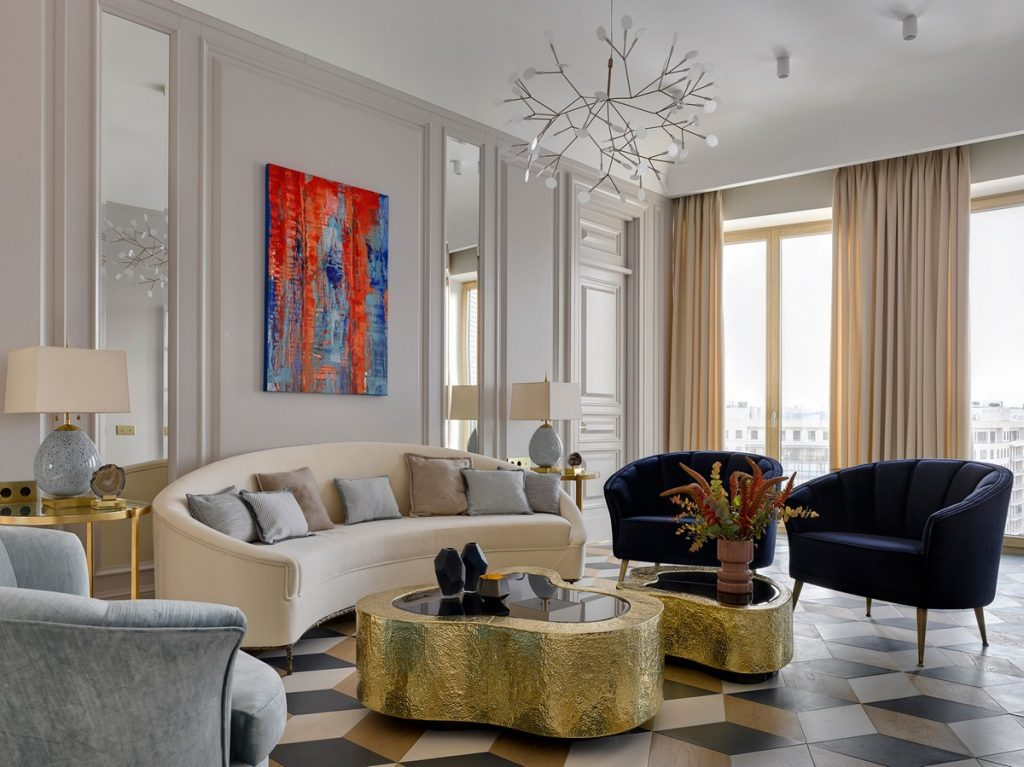 Gorgeous Living Rooms by Top Interior Designer Katerina Lashmanova