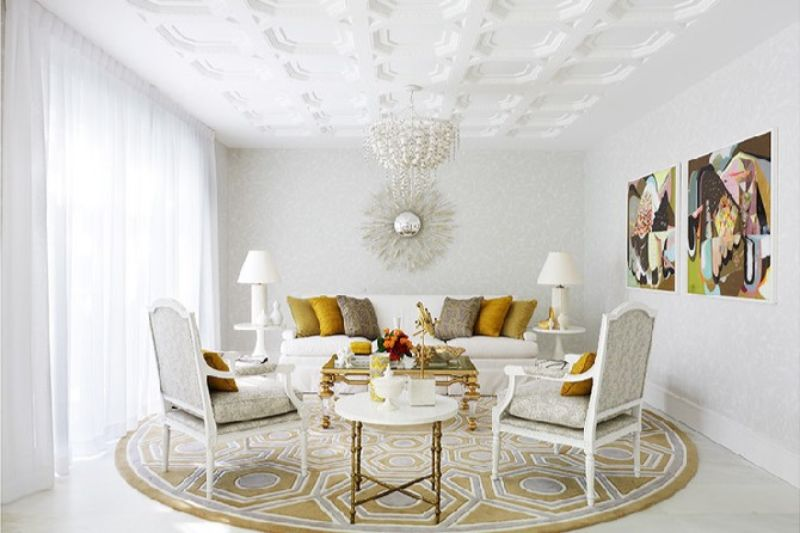 10 Mid-Century Modern Living Rooms By Greg Natale greg natale 10 Mid-Century Modern Living Rooms By Greg Natale Contemporary living room designs by Greg Natale This room floats in a cloud of white detail and strong geometric shapes that stand out nicely 1