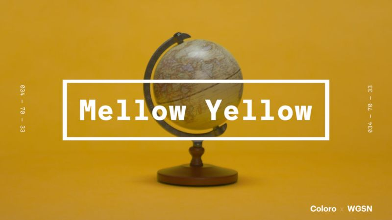 coloro and wgsn 2020 key colors Meet The Coloro And WGSN 2020 Key Colors Main Mellow Yellow