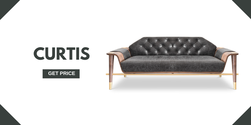 mid-century modern sofas 5 Leather Mid-Century Modern Sofas For A Vintage Ambience curtis 1