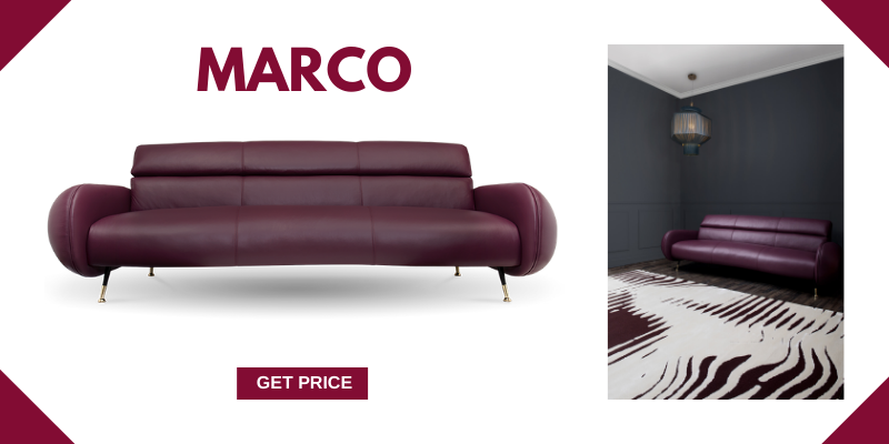 5 Leather Mid-Century Modern Sofas For A Vintage Ambience mid-century modern sofas 5 Leather Mid-Century Modern Sofas For A Vintage Ambience marco 1