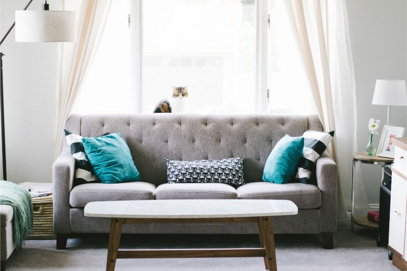 living room decor Top Tips On How To Create The Most Serene Living Room Decor Ever nathan fertig FBXuXp57eM0 unsplash 1