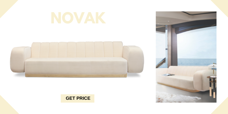 mid-century modern sofas 5 Leather Mid-Century Modern Sofas For A Vintage Ambience novak 1