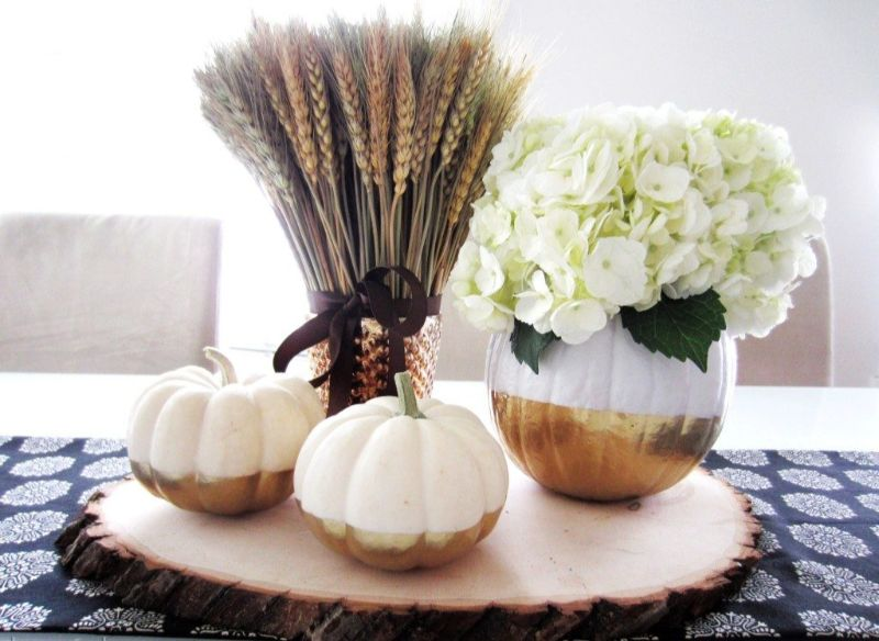 thanksgiving decor Thanksgiving Decor Ideas For A Grateful Living Room pumpkin 1