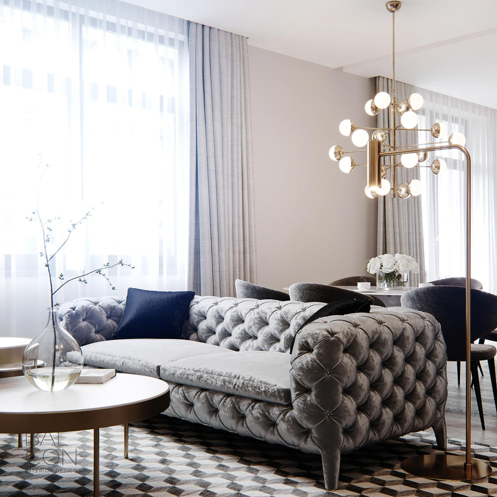 Most Beautiful Living Rooms of 2019 by Balcon Studio  Most Beautiful Living Rooms of 2019 by Balcon Studio                                             4