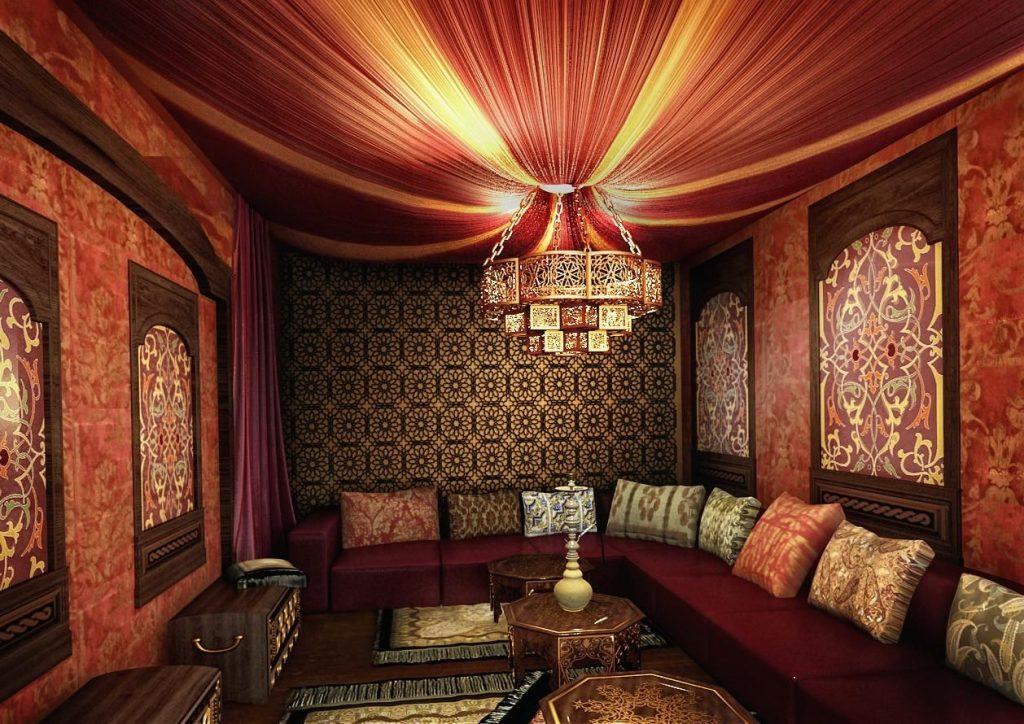 middle eastern décor Middle Eastern Décor With Mid-Century Pieces! 2 1024x724