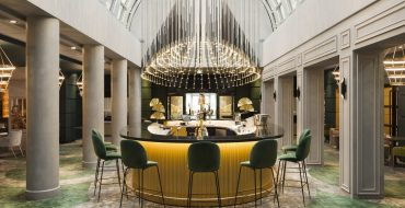 mid-century modern interiors Stunning Mid-Century Modern Interiors by Sundukovy Sisters Boutique Hotel Le Louis Versailles Ch  teau MGallery By Sofitel France